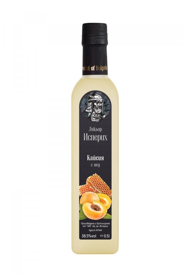 Apricot with honey - liqueur